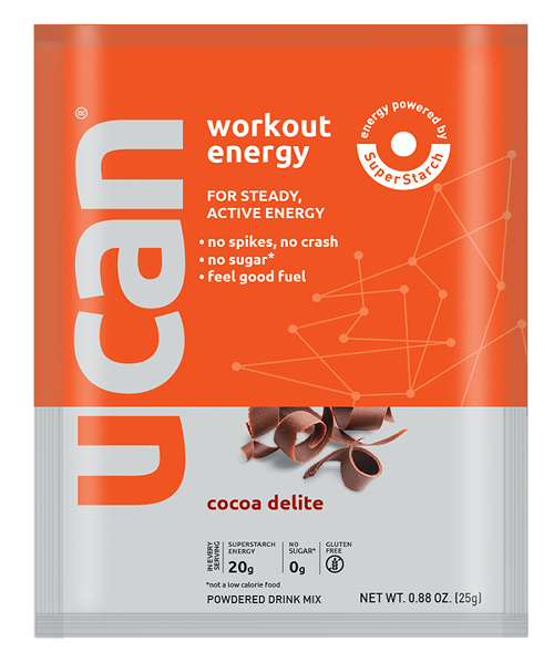Cocoa Delite workout serving