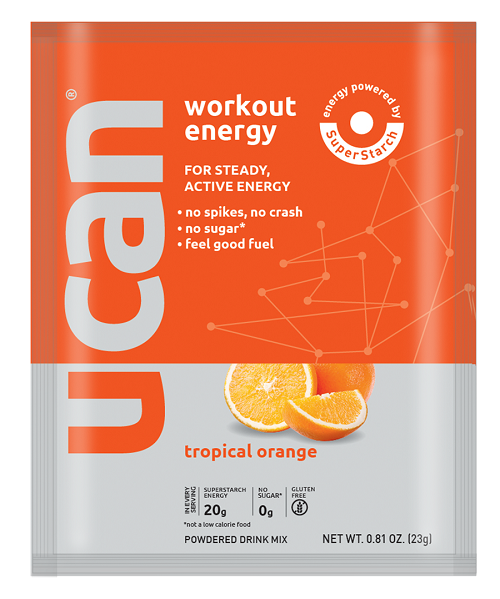 Tropical Orange  workout serving